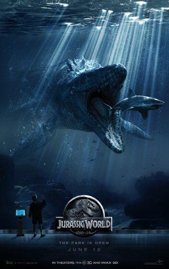 Смотреть трейлер Jurassic World (2015)