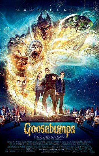 Смотреть трейлер Goosebumps (2015)