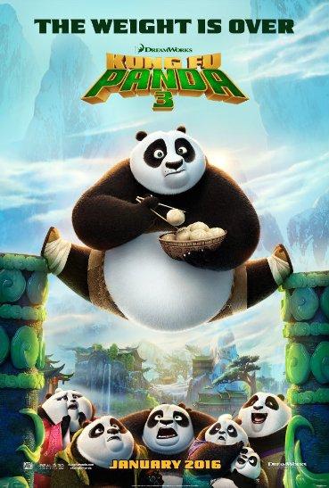 Смотреть трейлер Kung Fu Panda 3 (2016)