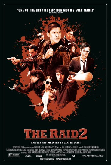 Смотреть трейлер The Raid 2 (2014)