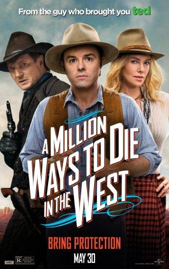 Смотреть трейлер A Million Ways to Die in the West (2014)