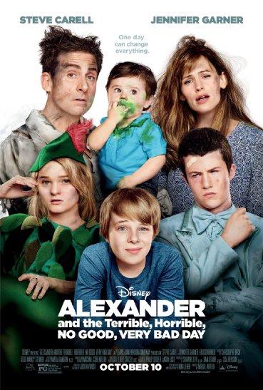 Смотреть трейлер Alexander and the Terrible, Horrible, No Good, Very Bad Day (2014)