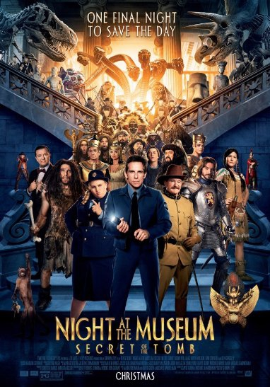 Смотреть трейлер Night at the Museum: Secret of the Tomb (2014)