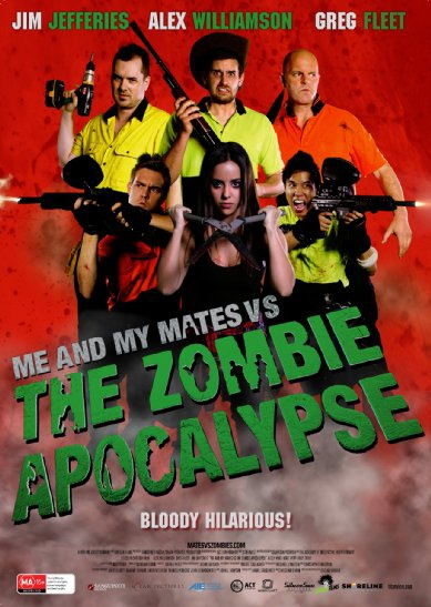 Смотреть трейлер Me and My Mates vs. The Zombie Apocalypse (2015)