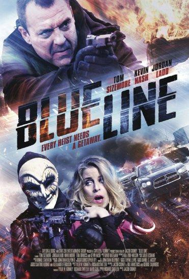 Смотреть трейлер Blue Line (2017)