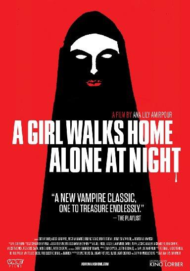 Смотреть трейлер A Girl Walks Home Alone at Night (2014)