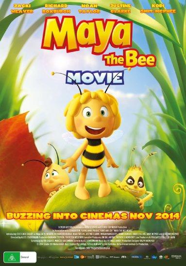 Смотреть трейлер Maya the Bee Movie (2014)