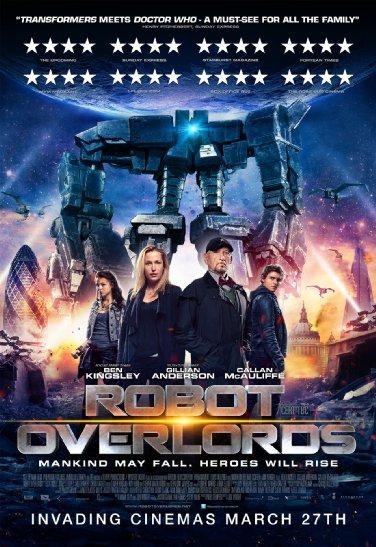 Смотреть трейлер Robot Overlords (2014)