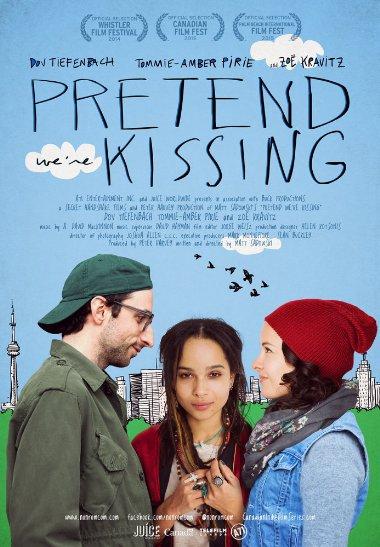Смотреть трейлер Pretend We're Kissing (2014)