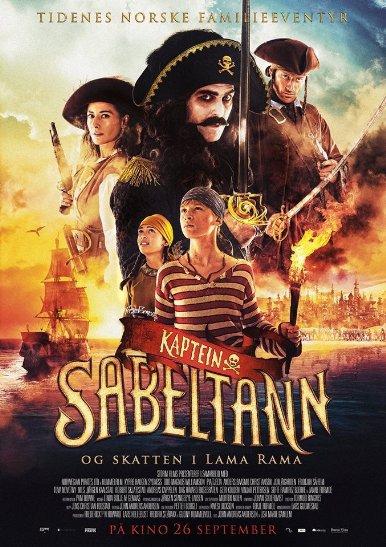 Captain Sabertooth and the Treasure of Lama Rama (2014)