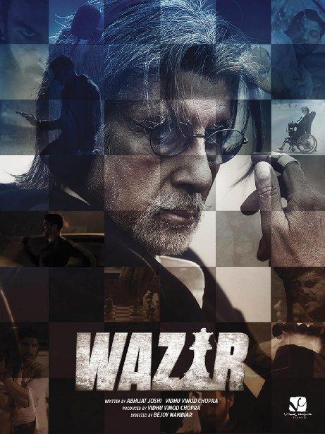 Смотреть трейлер Wazir (2016)