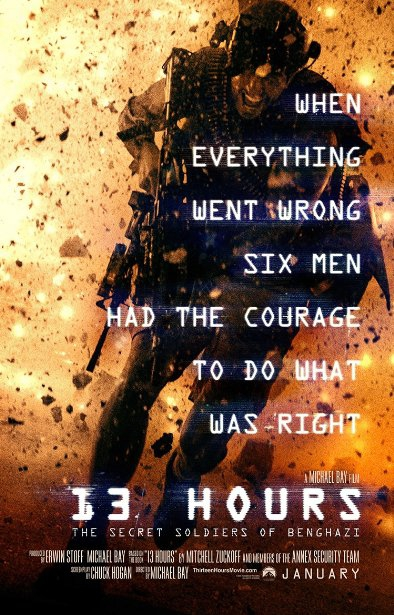 Смотреть трейлер 13 Hours: The Secret Soldiers of Benghazi (2016)