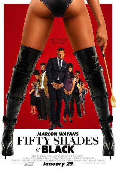 Смотреть трейлер Fifty Shades of Black (2016)