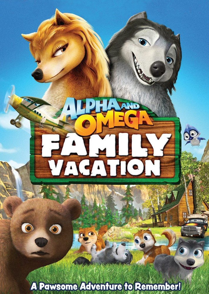 Смотреть трейлер Alpha and Omega: Family Vacation (2015)