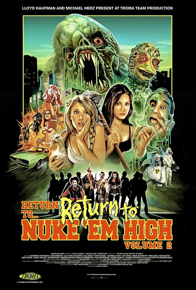 Return to Nuke 'Em High Volume 2 (2016)
