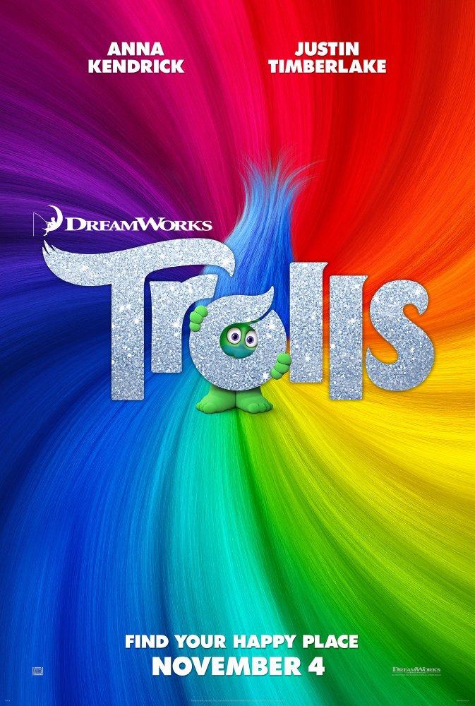 Смотреть трейлер Trolls (2016)
