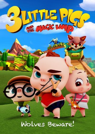 3 Little Pigs and the Magic Lamp (2016)