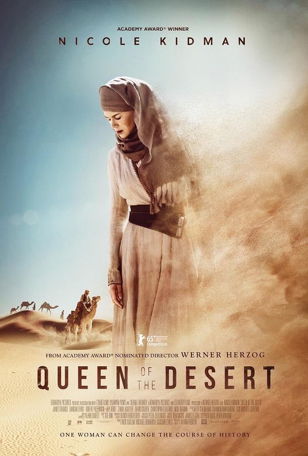 Смотреть трейлер Queen of the Desert (2015)