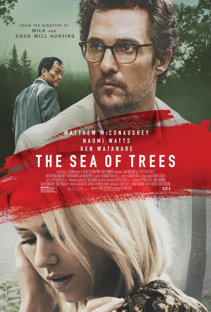 Смотреть трейлер The Sea of Trees (2015)