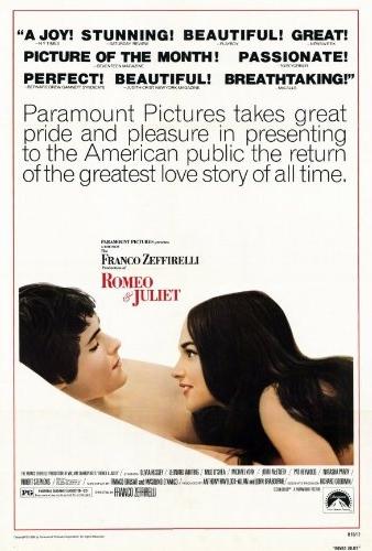 Смотреть трейлер Romeo and Juliet (1968)