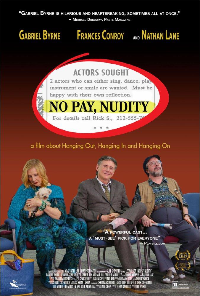 Смотреть трейлер No Pay, Nudity (2016)