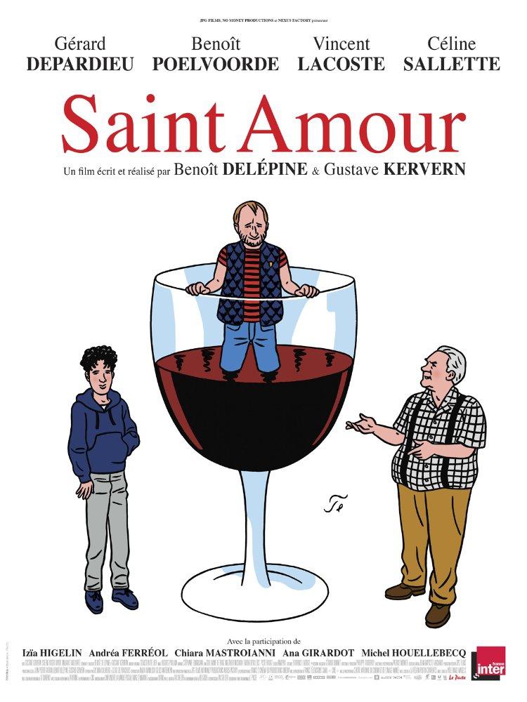 Смотреть трейлер Saint Amour (2016)