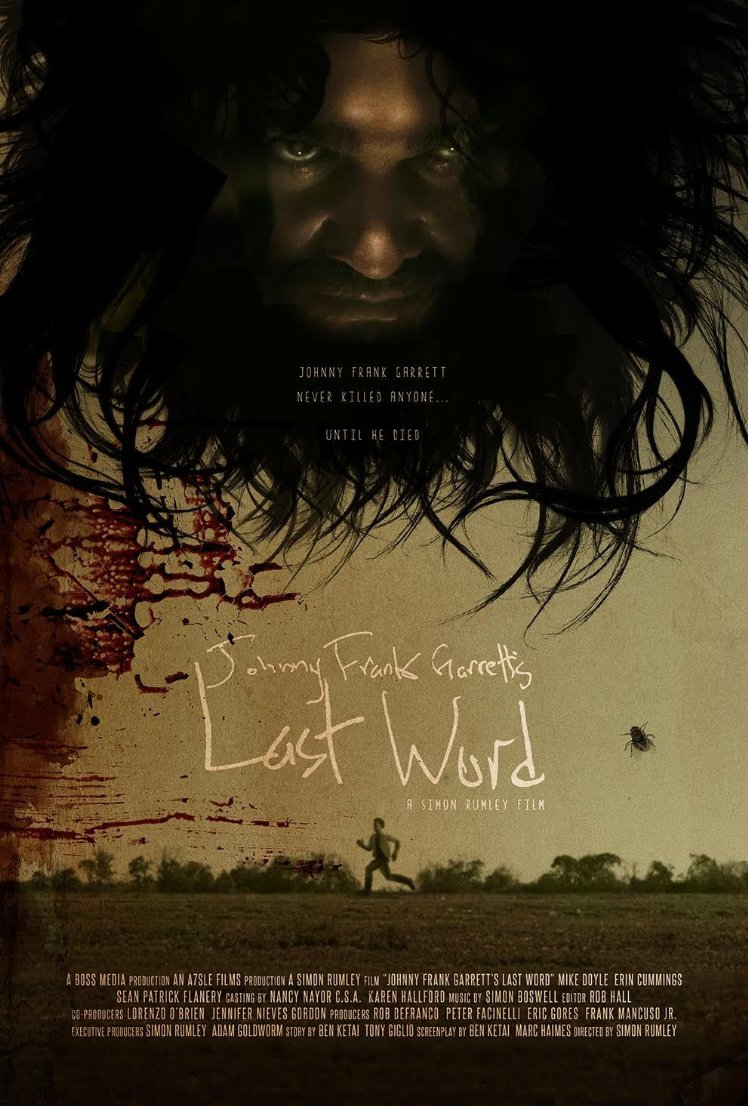Смотреть трейлер Johnny Frank Garrett's Last Word (2016)
