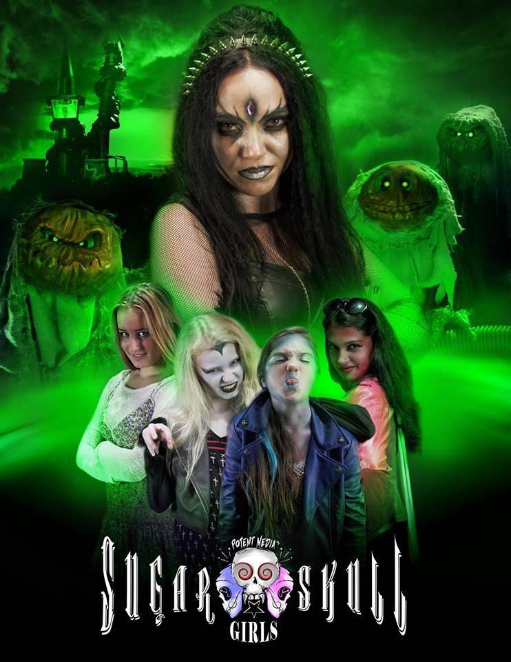 Potent Media's Sugar Skull Girls (2016)