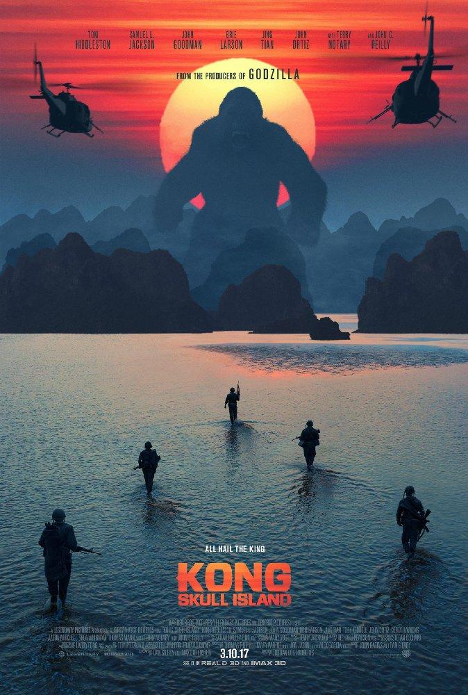 Смотреть трейлер Kong: Skull Island (2017)