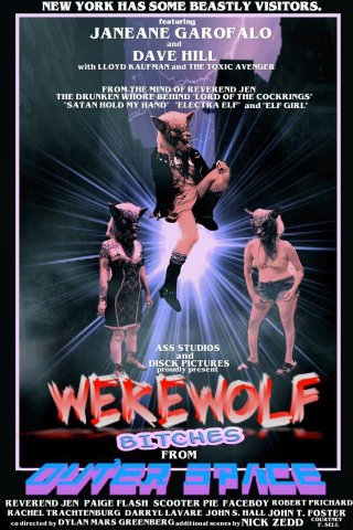 Werewolf Bitches from Outer Space (2016)