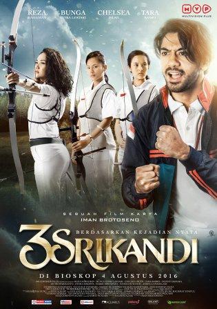 Смотреть трейлер 3 Srikandi (2016)