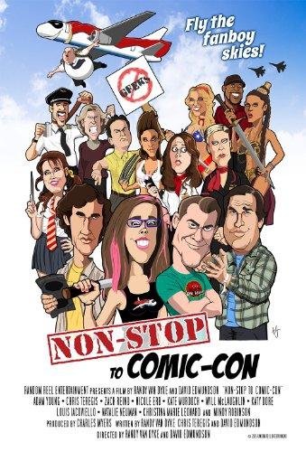 Смотреть трейлер Non-Stop to Comic-Con (2016)