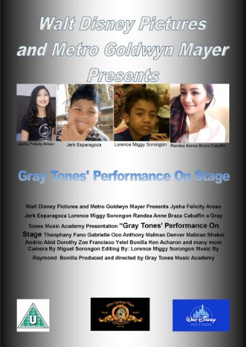 Gray Tones' Performance on Stage (2016)