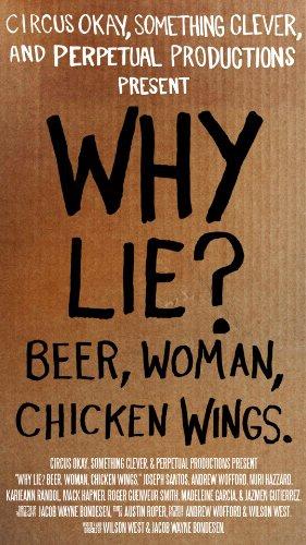 Смотреть трейлер Why Lie? Beer, Woman, Chicken Wings (2016)