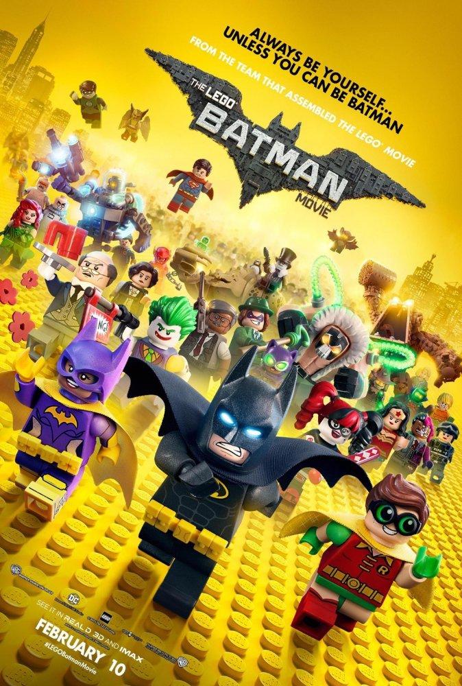 Смотреть трейлер The Lego Batman Movie (2017)