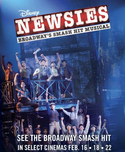 Смотреть трейлер Disney's Newsies the Broadway Musical (2017)