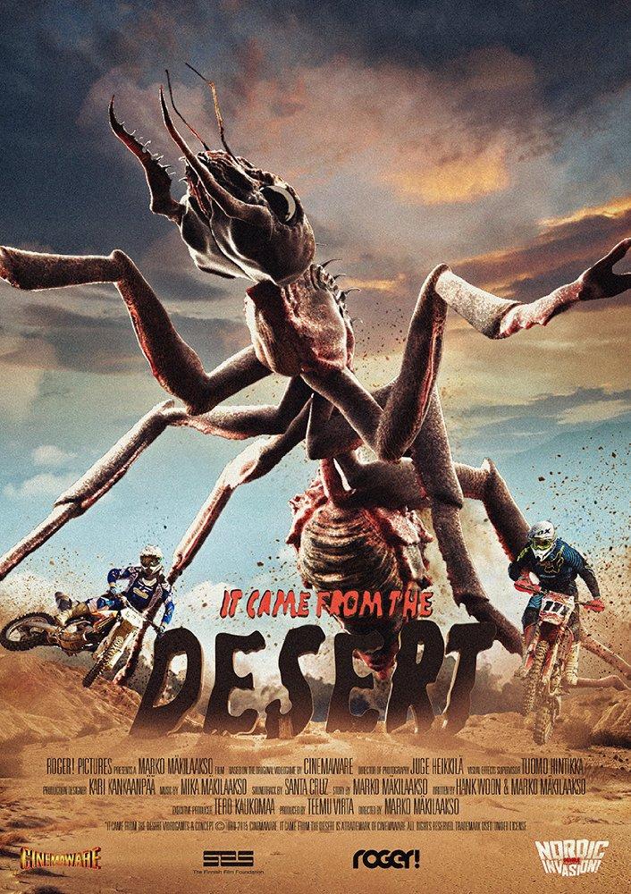Смотреть трейлер It Came from the Desert (2017)