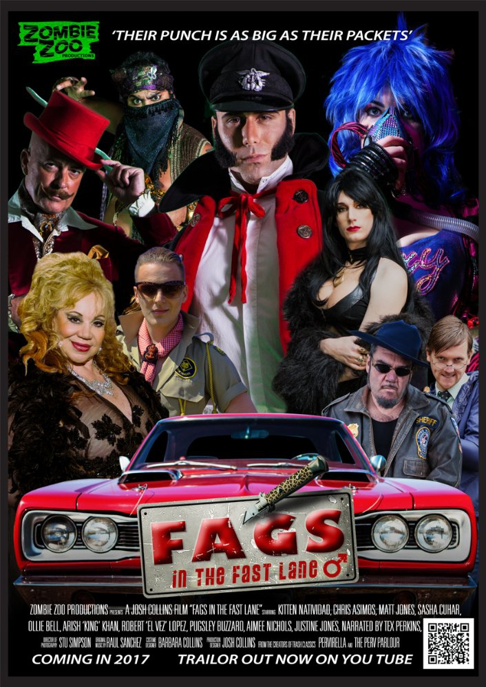 Смотреть трейлер Fags in the Fast Lane (2017)