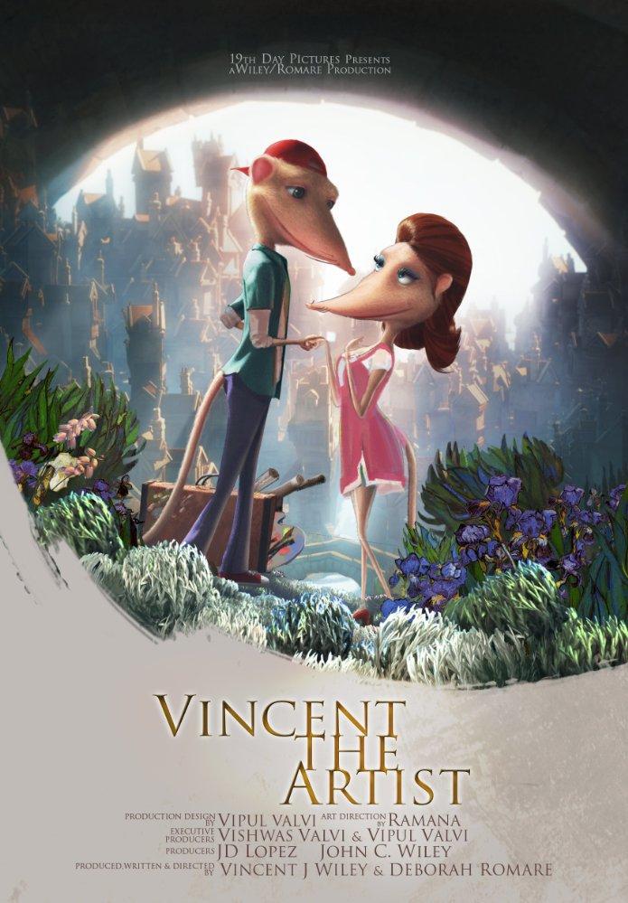 Смотреть трейлер Vincent the Artist (2017)