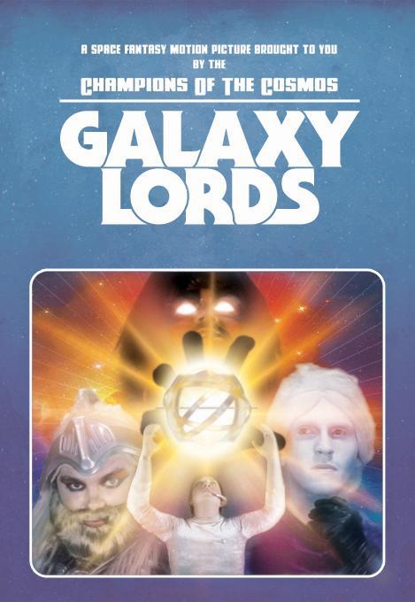 Смотреть трейлер Galaxy Lords (2017)