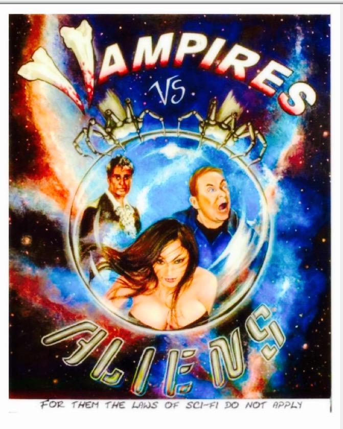Смотреть трейлер Vampires vs. Aliens (2017)