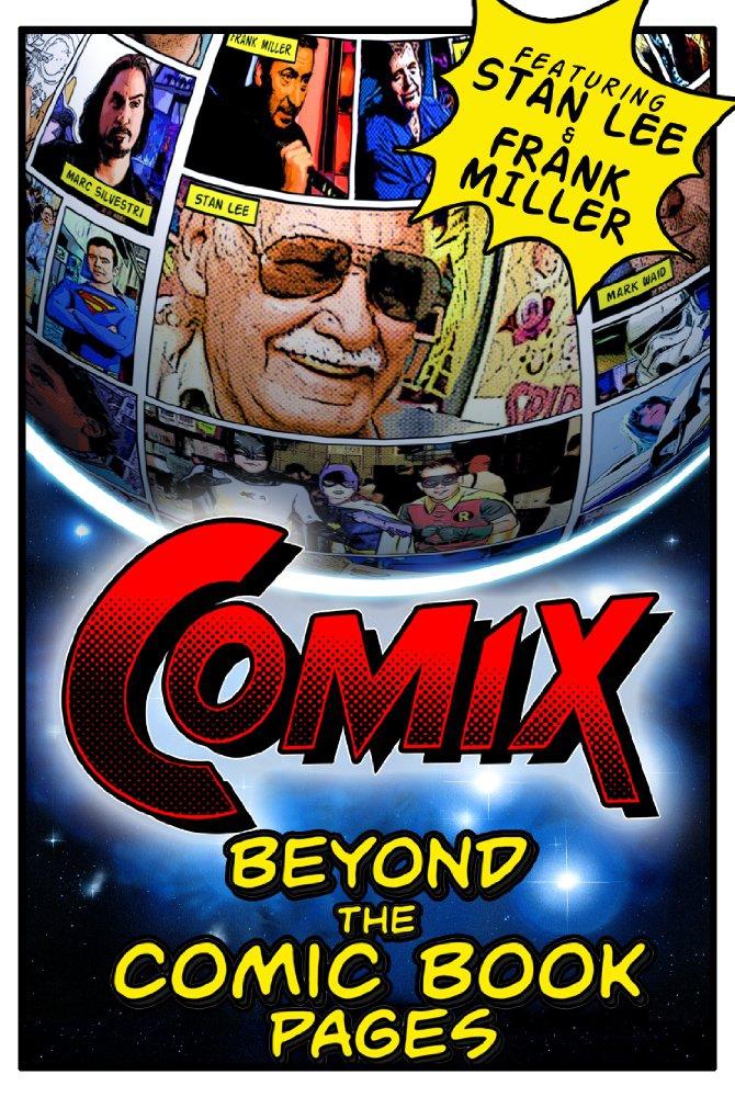 Смотреть трейлер COMIX: Beyond the Comic Book Pages (2016)