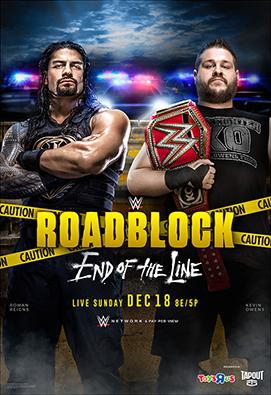WWE Roadblock: End of the Line (2016) Online