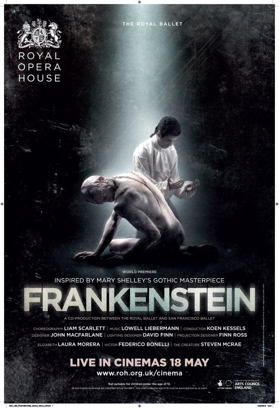 Frankenstein from the Royal Ballet (2016)