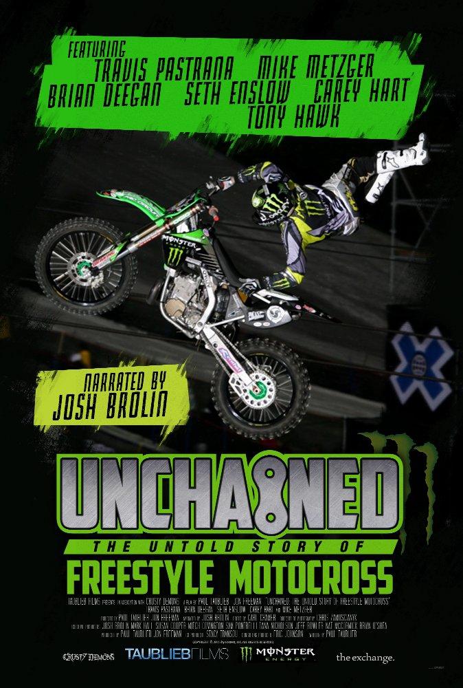 Смотреть трейлер Unchained: The Untold Story of Freestyle Motocross (2016)