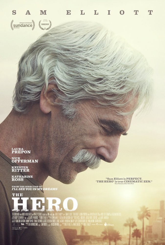 Смотреть трейлер The Hero (2017)