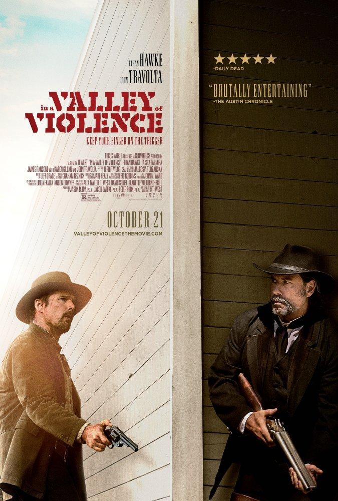Смотреть трейлер In a Valley of Violence (2016)