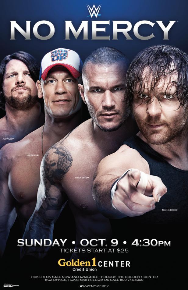 WWE No Mercy (2016)