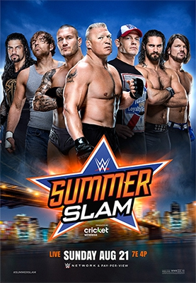 Смотреть трейлер WWE Summerslam (2016)