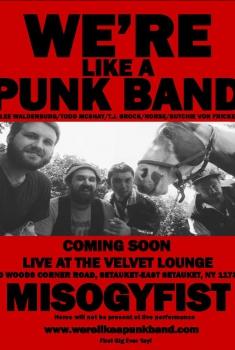 Смотреть трейлер We're Like a Punk Band (2017)